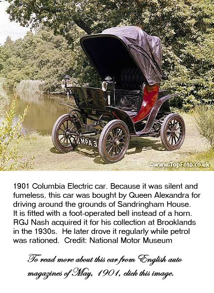 Below Is A Collection Of Other Materials Relating To Columbia Electric Cars From 1901 09