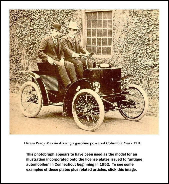 The Columbia Cars are Born... Pope Manufacturing - Columbia cars
