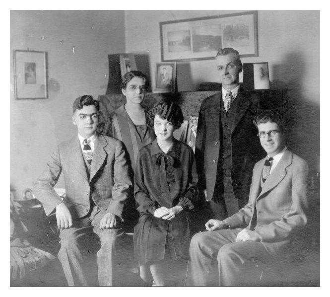 duffie family, c. 1926