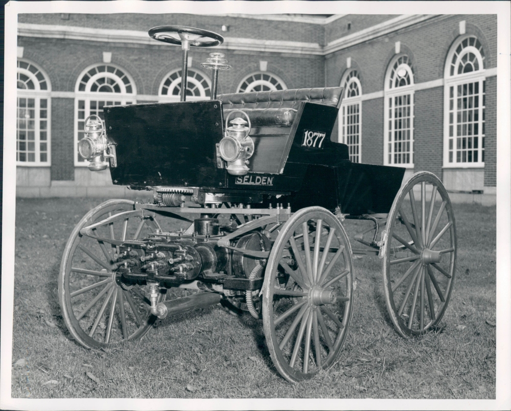 The Selden Motor Wagon; The Selden car; The Selden Patent . . . . .