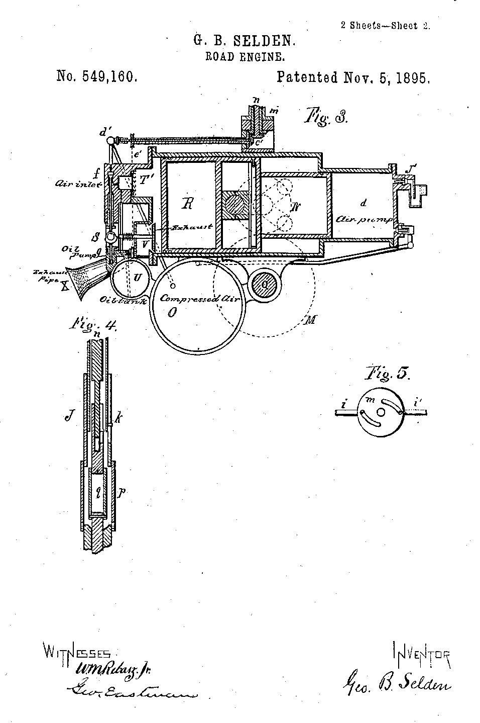 The Selden Patent Part 2 1952 International Engine Diagram